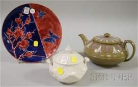 959 Three Assorted Wedgwood Ceramic Items a drabware