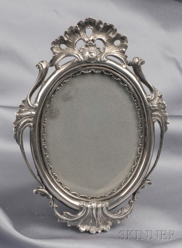 12: Sterling Silver Picture Frame, M. Buccellati, with