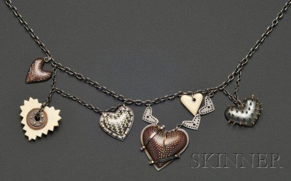 16: Mixed Metal Necklace, Elizabeth Garrison, Mansfield
