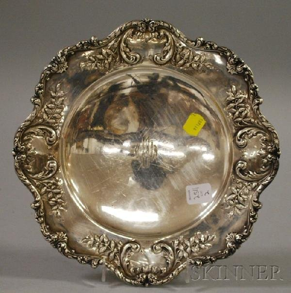 2: Black, Starr & Frost Sterling Silver Footed Plate, a
