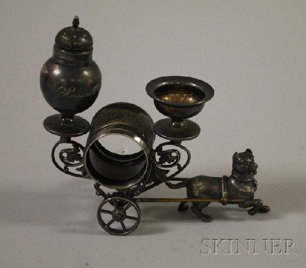 7: Meriden Victorian Silver Plated Napkin Ring.