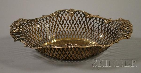 23: Howard & Company Reticulated Sterling Silver Basket