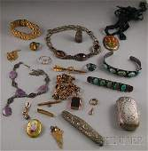 275 Group of Assorted Jewelry including a sterling si