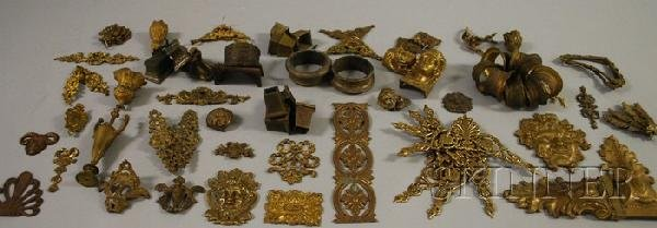704: Approximately Seventy Mostly French Cast Bronze an