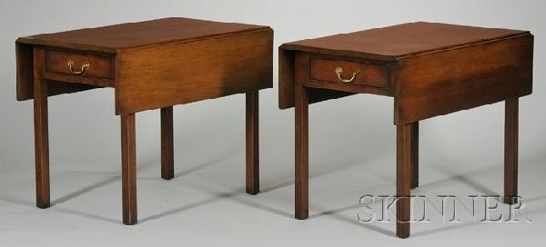 706: Pair of Kittinger Historic Newport Reproduction Ch