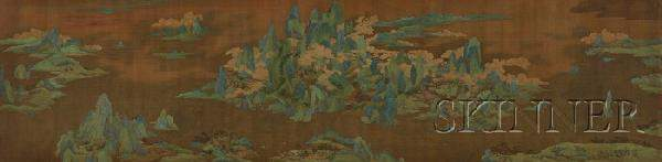 771 Handscroll China probably Ming dynasty ink and