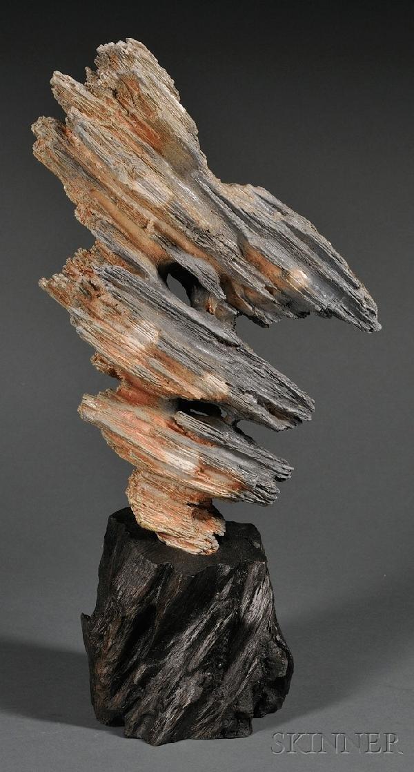 1359: Scholar's Rock, Meng Zhao (b. 1967), brown stonew