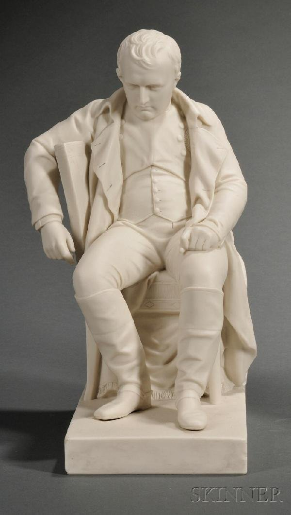 10: Copeland Parian Figure of Napoleon, England, 19th c