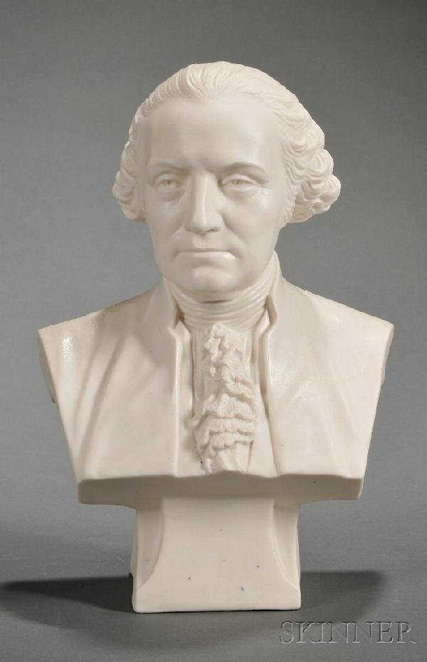 12: Cook Parian Bust of Washington, Trenton, New Jersey
