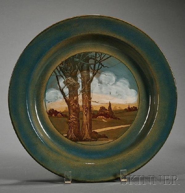 17: Royal Doulton Earthenware Dish, England, early 20th