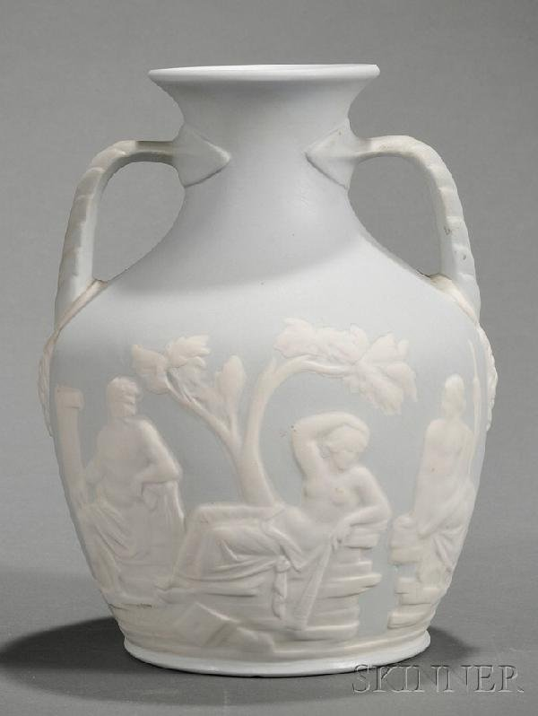 19: Buffalo Pottery Copy of the Portland Vase, Buffalo,