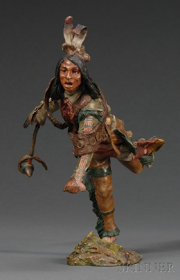 781: Carl Kauba (American, 1865-1922) Cold Painted Bron