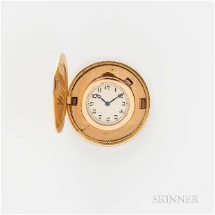 18kt Gold Albert I Prince Coin Watch