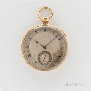 Charles Frodsham 18kt Gold Repeating Open-face Watch