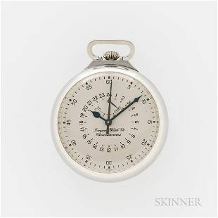 Stainless Steel Longines Center-seconds Chronometer