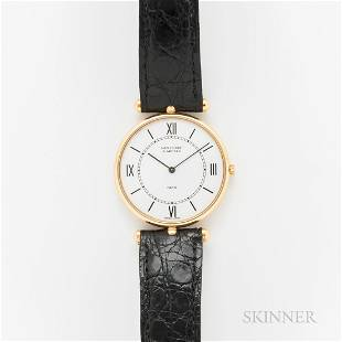 Van Cleef & Arpels 18kt Gold Ultra-slim Wristwatch