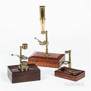 Three Simple Field Microscopes