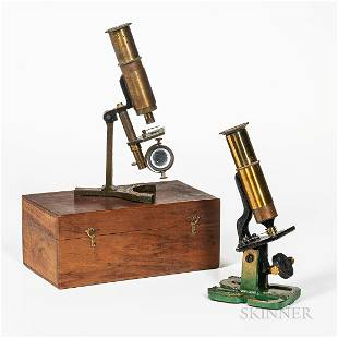 """Two Student or """"Household"""" Microscopes"""