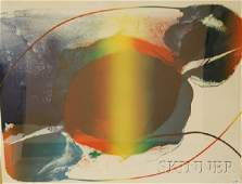 266: Paul Jenkins (American, b. 1923) Untitled Abstract