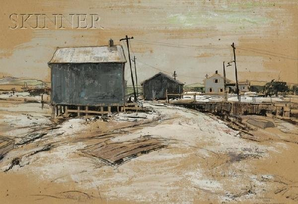 370: Carl Frederick Gaertner (American, 1898-1952), Wel