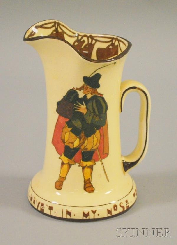 """508: Royal Doulton Series Ware Sir Andrew Acuecheer, """"I"""