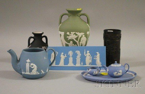 509: Seven Assorted Wedgwood Jasperware Items and Wedgw