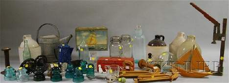 684 Group of Assorted Country and Collectible Items i