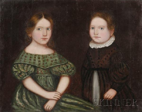 507: Zedekiah Belknap (American, 1781-1858) Portrait of