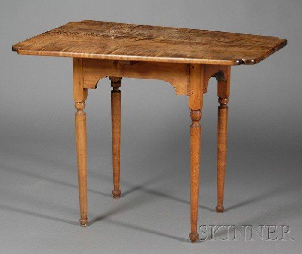 520: Maple Tea Table, New England, last half 18th centu
