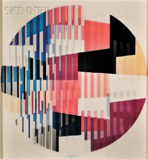Yaacov Agam (Israeli. b. 1928) Untitled, edition of