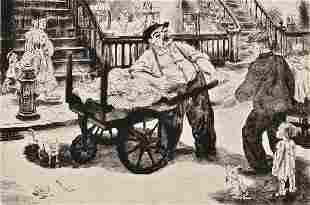 18: Peggy Bacon (American, 1895-1987) The Rival Ragman,