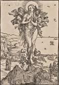 65: Albrecht D?rer (German, 1471-1528) The Elevation of