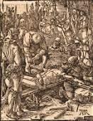 66: Albrecht D?rer (German, 1471-1528) Christ Nailed to