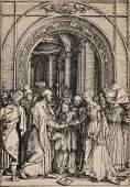 67: Albrecht D?rer (German, 1471-1528) The Betrothal of