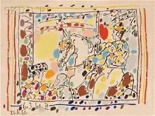 169: Pablo Picasso (Spanish, 1881-1973) Le Picador II,