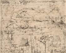 223: Zao Wou-Ki (Chinese, b. 1921) Les maisonettes, 197