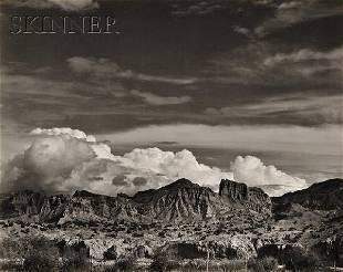 284: Edward Weston (American, 1886-1958) Mountains, New