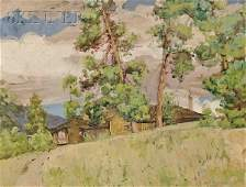 Jane Peterson (American, 1876-1965), His Bungalow