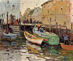 464: Antonio Cirino (American, 1889-1983), Italian Fish