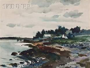 476: Andrew Newell Wyeth (American, 1917-2009), Low Wat