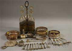 163A Group of Assorted Silver and Silverplated Items