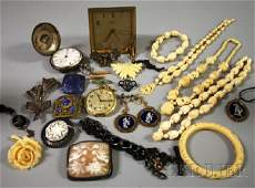 373 Group of Assorted Jewelry Items including an Ange