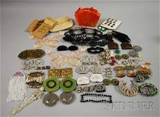 398 Group of Costume Jewelry and Decorative Items inc