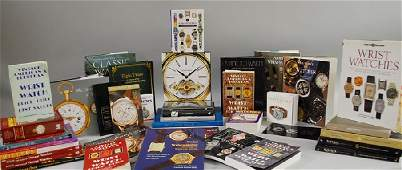 418 Large Group of Watchrelated Reference Books incl
