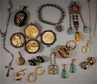 428 Group of Assorted Jewelry Items including an anti
