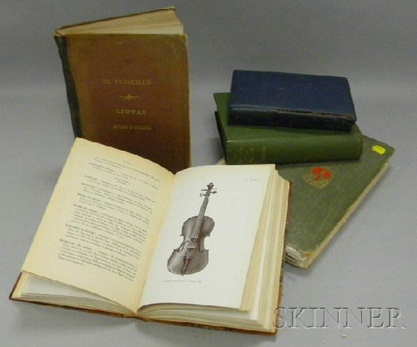 501: Six Book of Violin Related Literature, including A
