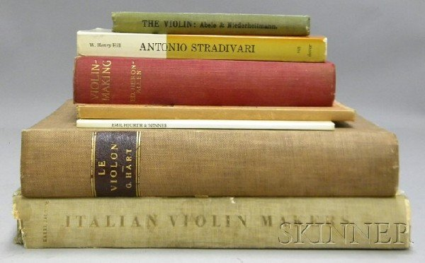 506: Eight Books of Violin Related Literature.