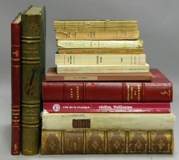 507: Thirteen Books of Violin Related Literature in Fre