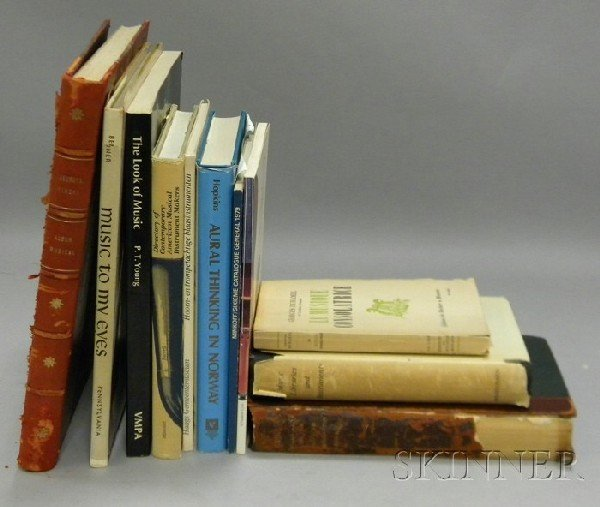 511: Fourteen Books of Music Related Literature.