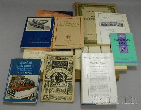 513: Thirteen Books Relating to Musical Instruments.